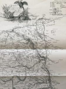 Mapa Warszawy i okolic z 1796 r.